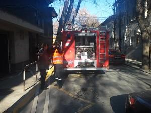 Провеждане на учебна евакуация в Съдебната палата гр. Пловдив с участието на Първа РС ПБЗН